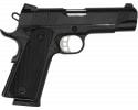 "Tisas 1911 Carry B45 4.25"" Barrel 8+1 45 ACP - Black Cerakote"