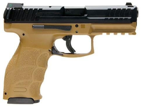 """Heckler & Koch VP9 9mm Pistol, 4.09"""" 15rd FDE NS - HK 700009FDELEA5"""