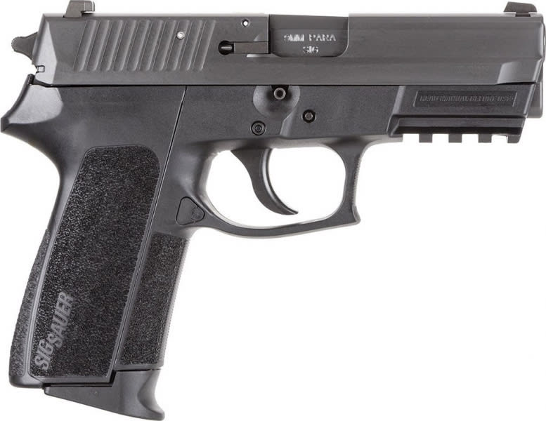 Sig Sauer Pro Sp2022 9mm Pistol, Black 1 15rd - E20229B