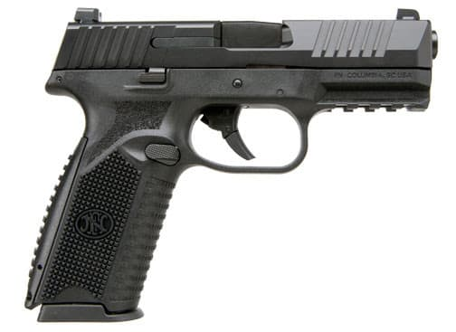 FNH 509 9mm Pistol, NMS 10rd Black / Black - 66-100003