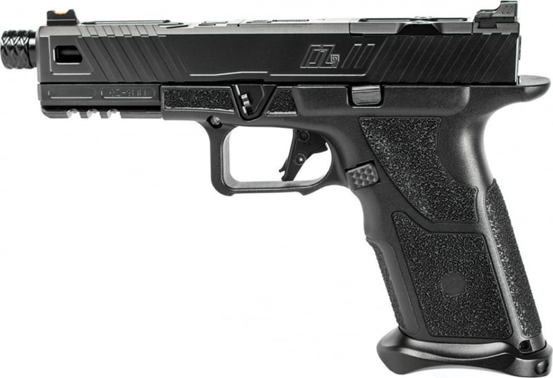 "Zev Technologies OZ9-STD-B-B-TH Handgun 4.5"" 17rd"