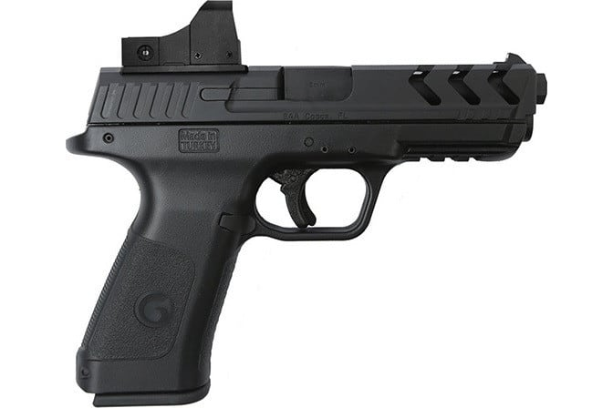 MKE Firearms 390130 Girsan MC28SA ADJ. SGT w/OPTIC15rdBlack Polymer