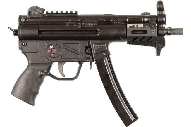 """PTR 6039KT PTR-9KT Pistol 5.83"""" Threaded 30rd M-LOK Black"""