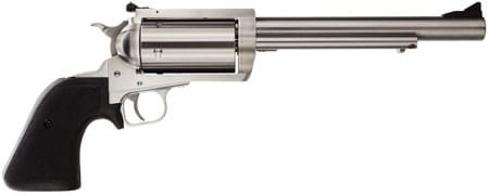 """Magnum Research BFR45LC410 BFR Long Cylinder SS 45LC/410 Single .45 LC / 410GA 7.5"""" 5 Black Rubber Stainless Revolver"""