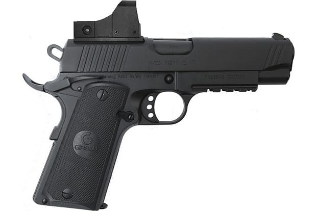 MKE Firearms 390051 MC1911C Commander ADJ. SGT w/OPTIC Black