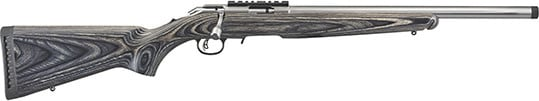 """Ruger 8369 American Target 18"""" SS Threaded Black Laminate"""