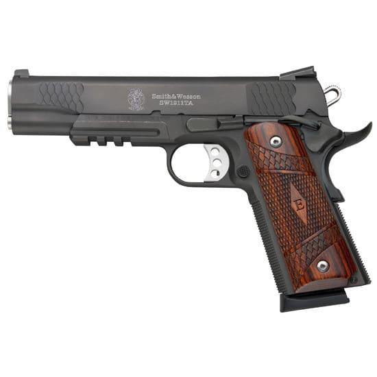 Smith & Wesson 108409 1911TA 45 ACP E Series SS Black Melonite 8rd