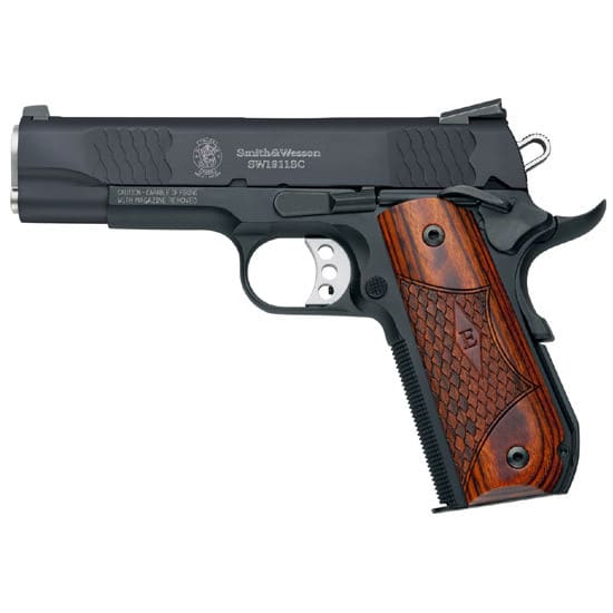 Smith & Wesson 108483 1911SC 45 ACP E Series SS Black 8rd