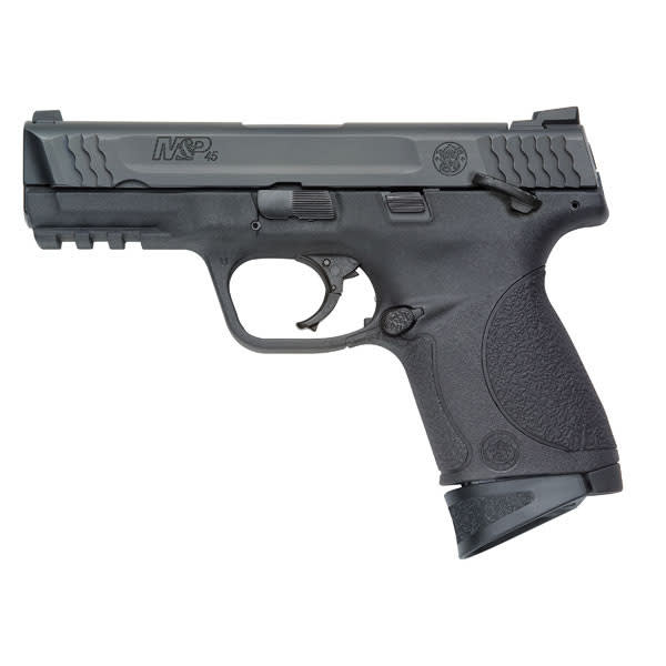 Smith & Wesson 109108 M&P45C 45 ACP Compact 4 Manual Safety 8rd