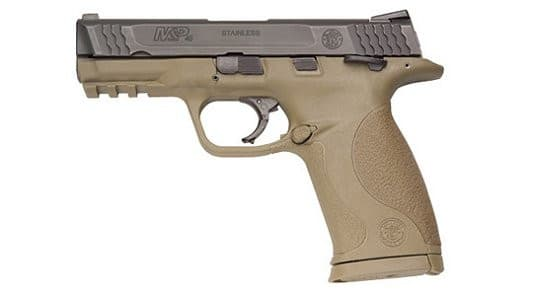 Smith & Wesson 109158 M&P45C 45 ACP 4 DRK Earth Compact 8rd