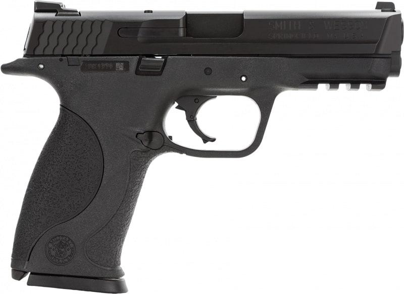 "Smith & Wesson 109350 M&P Double .40 S&W 4.3"" 10+1 Black Interchangeable Backstrap Grip Black"