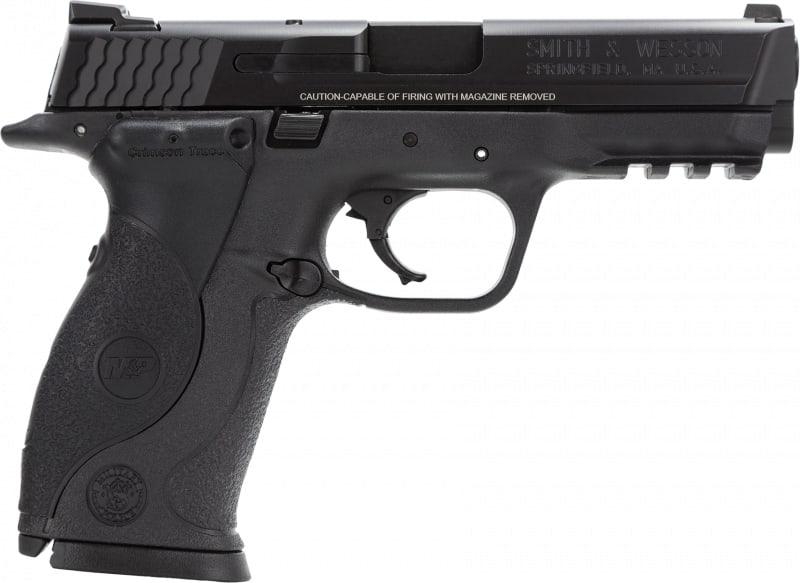 "Smith & Wesson 220071 M&P Double .40 S&W 4.3"" 15+1 Crimson Trace Laser Grip Black"