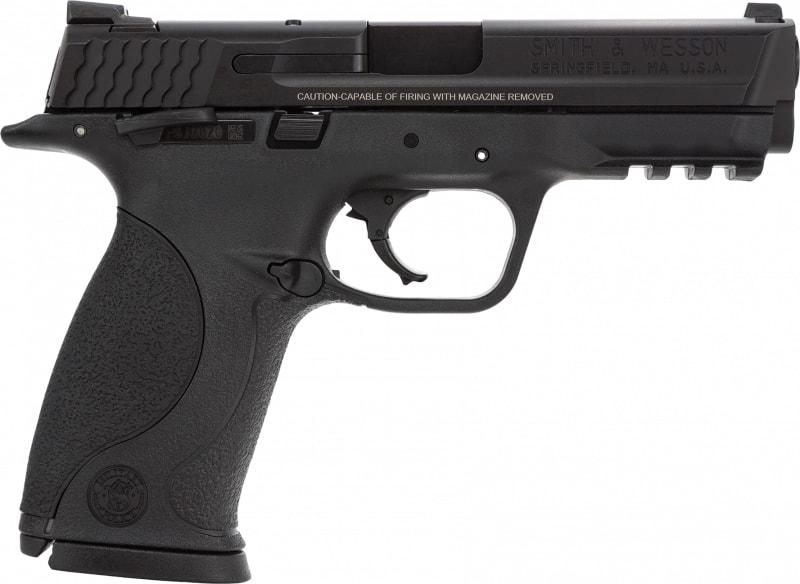"Smith & Wesson 206300 M&P Double .40 S&W 4.3"" 15+1 Black Interchangeable Backstrap Grip Black"