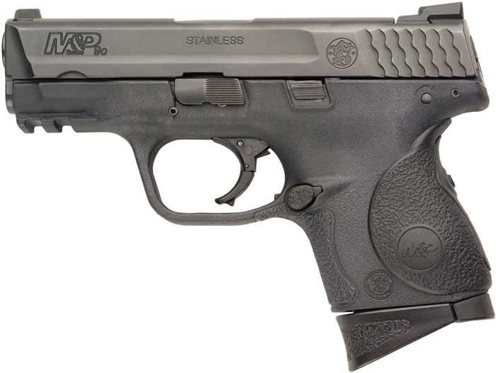 Smith & Wesson 220074 M&P9C 9mm Compact 3.5 12rd Crimson Trace Grips