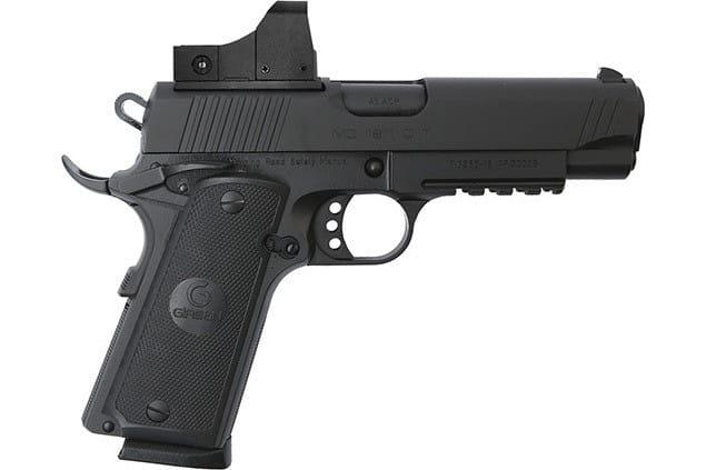 MKE Firearms 390071 MC1911C Commander ADJ. SGT w/OPTIC Black
