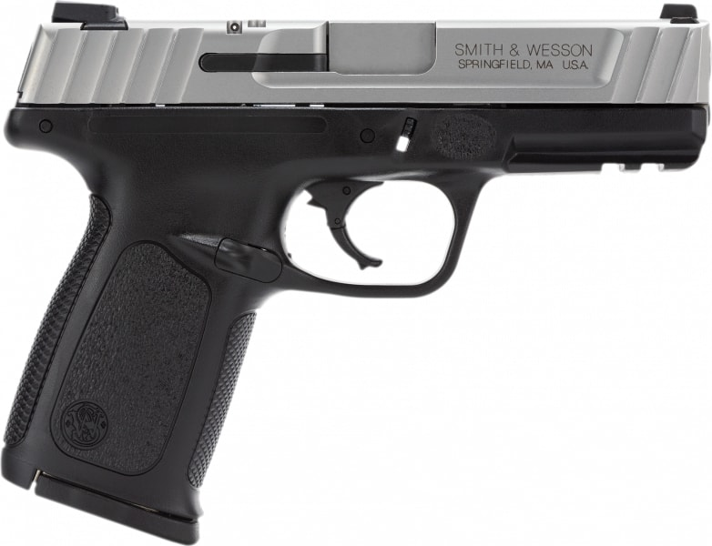 """Smith & Wesson 123402 SD VE *MA Compliant* Double .40 S&W 4"""" 10+1 Black Polymer Grip Black"""