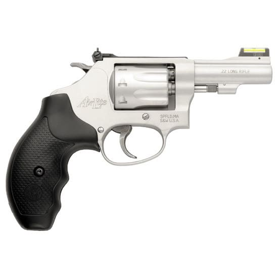 Smith & Wesson 160221 317 22LR 3 Airlite SS RB AS SG HV IL 8rd Revolver
