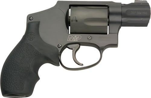 Smith & Wesson 163072 M&P 340 .357 Magnum 1 7/8 5rd Scandium Diamondblk Revolver