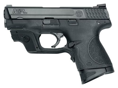 Smith & Wesson 10177 M&P40C 40 S&W 3.5 Comp w/ Green CTC Laserguard