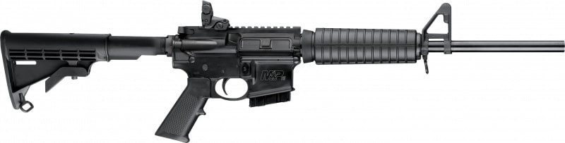 """Smith & Wesson 10203 M&P 15 Sport II *ma/nj Compliant* Semi-Auto 223 Rem/5.56 NATO 16"""" 10+1 Fixed Black"""