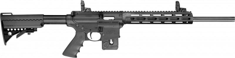 "Smith & Wesson 11507 M&P15-22 Sport *CA Compliant* Semi-Auto 22 Long Rifle 18"" 10+1 6-Position Black"