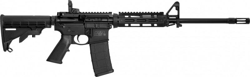 """Smith & Wesson 11535 M&P 15X Semi-Auto 223 Rem/5.56 NATO 16"""" 30+1 6-Position Hard Coat Anodized"""