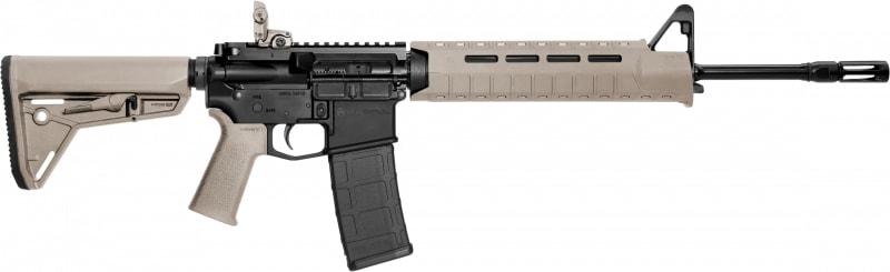 """Smith & Wesson 11513 M&P15 Carbine Magpul Semi-Auto .223 / 5.56 16"""" 30+1 Magpul MOE Slim Line FDE Stock Black"""