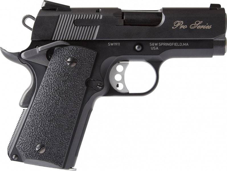 "Smith & Wesson 1911 178053 Pfmc 9mm 3"" 8rd"