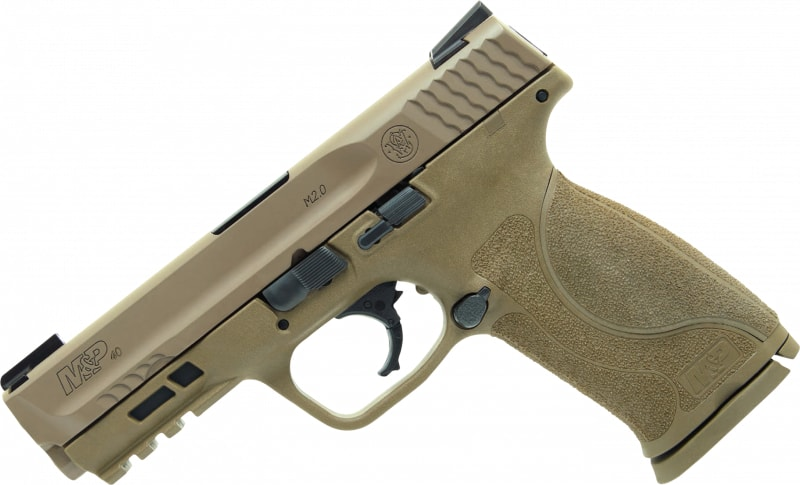 Smith & Wesson M&P40 11768 40 4.25 M2.0 TruGlo FDE 15R
