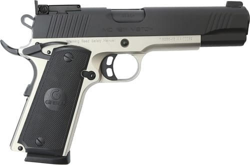 MKE Firearms 390092 MC1911 Match GOV'T ADJ. SGT TWO Tone
