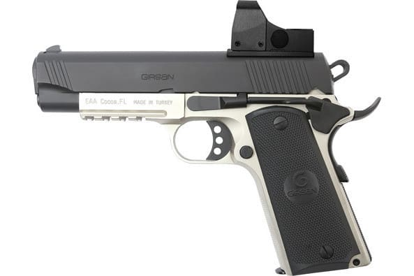 MKE Firearms G390073 MC1911C Commander ADJ. SGT w/OPTIC 2-TONE
