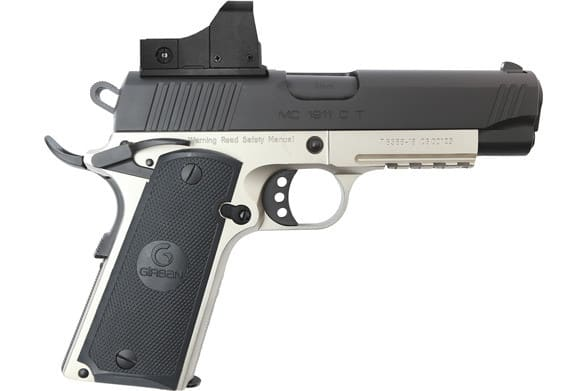 MKE Firearms 390053 MC1911C Commander ADJ. SGT w/OPTIC TWO Tone