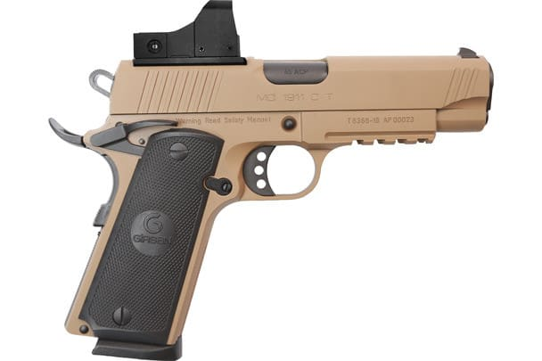 MKE Firearms 390075 MC1911C Commander ADJ. SGT w/OPTIC FDE
