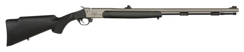 Traditions R741140 Pursuit G4 UL 50CAL 26 Black Synthetic Cerakote Barrel Black Powder Rifle
