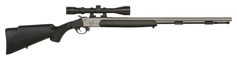 Traditions R5741140 Pursuit G4 UL 50CAL 26 Black Synthetic NS Cerakote Black Powder Rifle