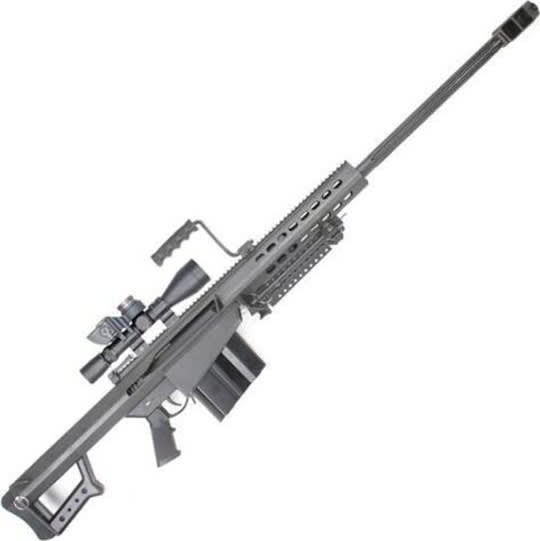 Barrett 12412 82A1 50BMG 29 Black SYS w/ Scope 10rd
