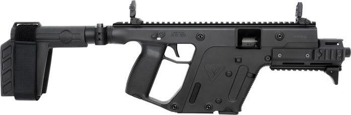 "Kriss KV45PSBBL31 Vector SDP Enhanced Brace 6.5"" TB 13rd Black"