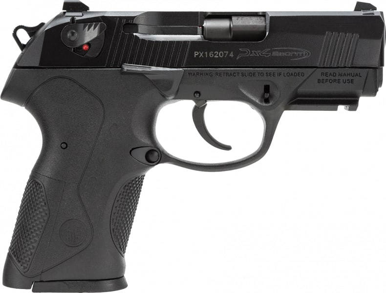 "Beretta JXC9F21 PX4 Storm Compact 9mm 3.27"" 15+1 Poly Grip/Frame Black"