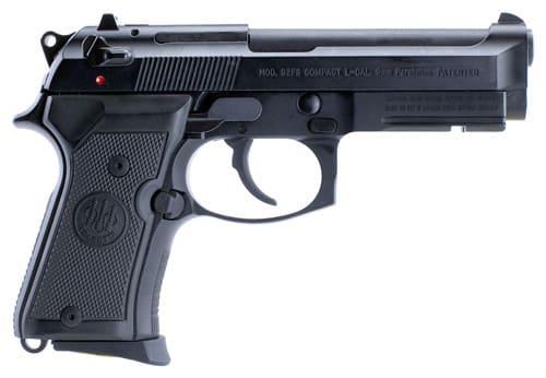 Beretta J90C9F10 92FS 9mm Compact Bruniton w/ Rail 13rd
