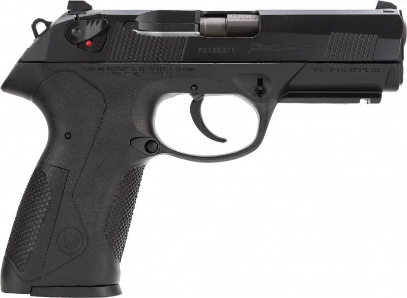 """Beretta JXF9F20 PX4 Storm 9mm 4"""" 10+1 Poly Grip/Frame Black"""