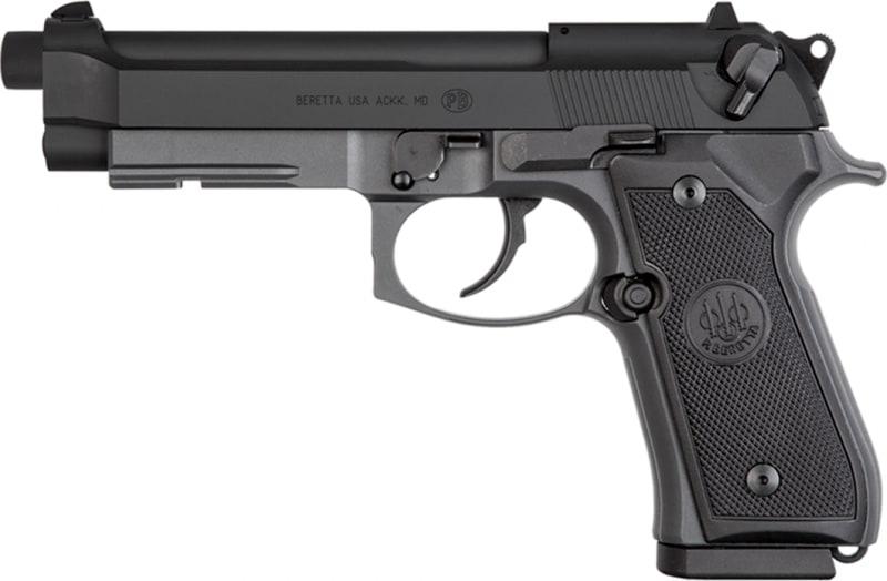 "Beretta J90A192FSRF5 92 DA/SA .22 LR 4.9"" 10+1 Black Grip"