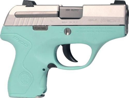 Beretta JMP8D75 Pico 380 Inox Robin Egg Blue