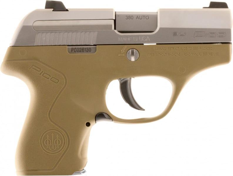 Beretta JMP8D55 Pico 380 Inox FDE 6R