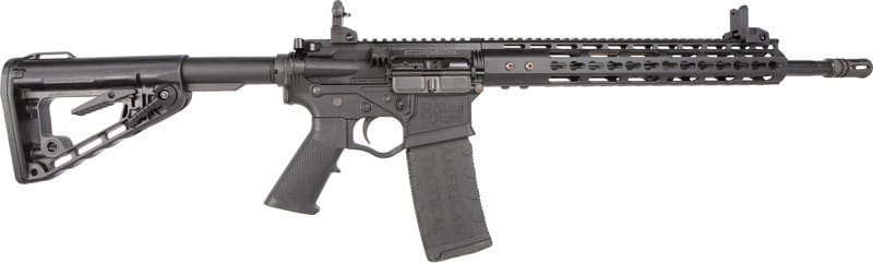 """ATI G15MS556TSI MIL-SPORT AR-15 16"""" 30rd Keymod Black w/SIGHTS"""