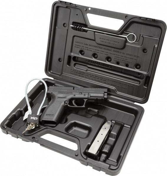 "Springfield XD9101 XD Essential Pkg *CA Compliant* DAO 9mm 4"" 10+1 Poly Grip/Frame Black"