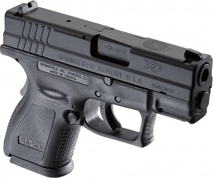 "Springfield XD9802 XD Essential Pkg *CA Compliant* DAO 40 S&W 3"" 10+1 Poly Grip/Frame Black"