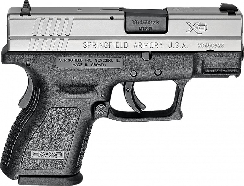 """Springfield Armory XD9822 XD 40 S&W *CA Compliant* Single .40 S&W 3"""""""
