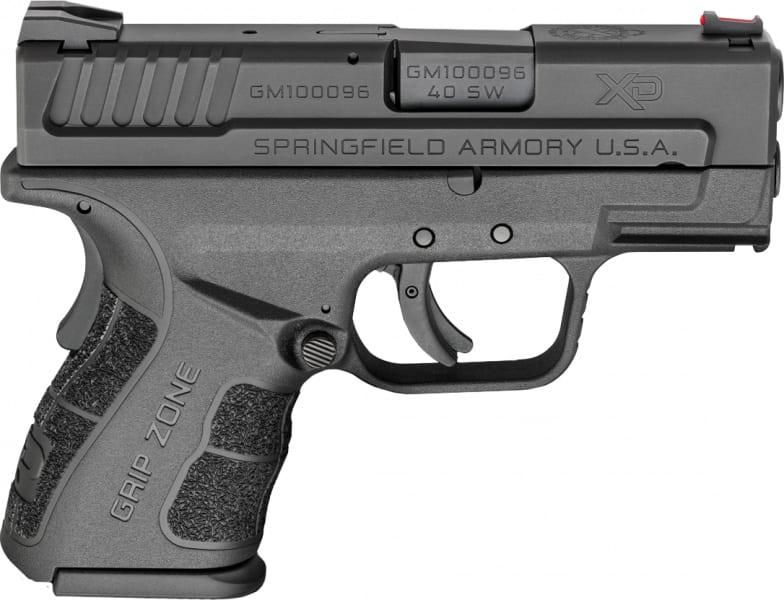 "Springfield Armory XDG9802 XD Mod.2 Sub-Compact Double .40 S&W 3"" 10+1 Black"