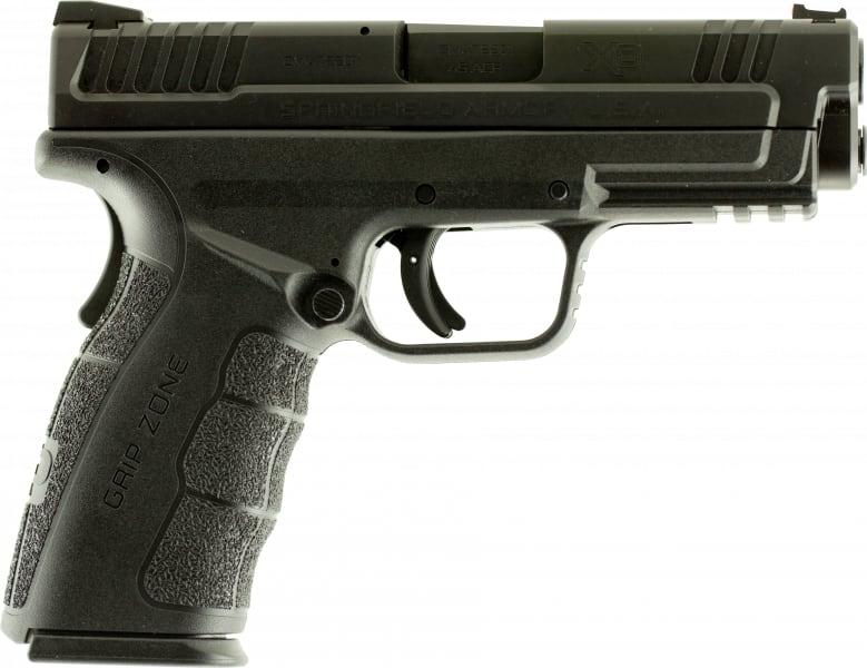 "Springfield Armory XDG9445B XD MOD.2 Double .45 ACP 4"" 10+1 Black Polymer Grip Black"