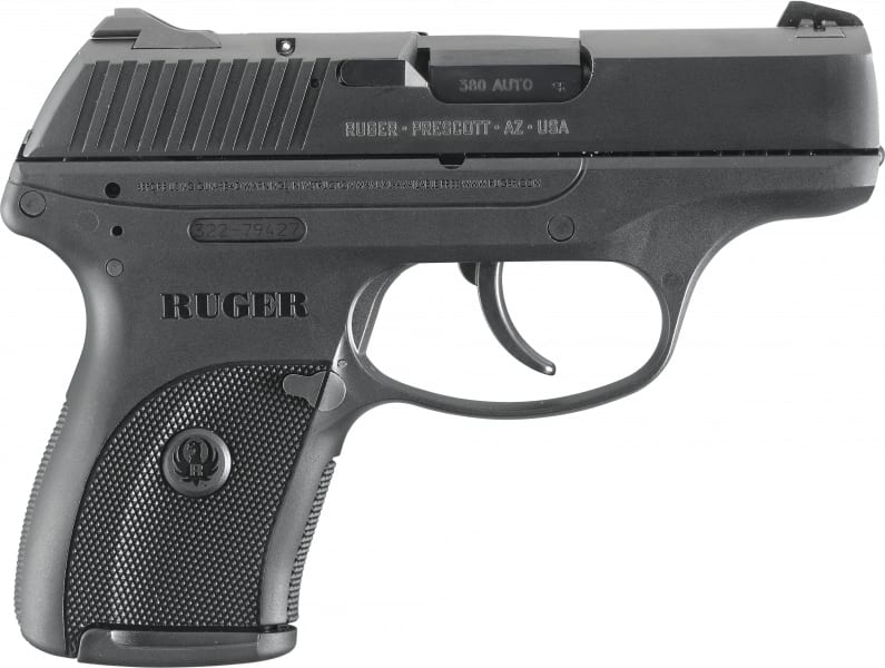 "Ruger 3219 LC380 *CA Compliant* 380 ACP 3.12"" 7+1 Black Poly Grip/Frame Blued"